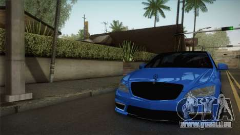 Mercedes-Benz S65 AMG für GTA San Andreas
