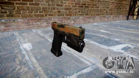 Pistolet Glock 20 jungle pour GTA 4