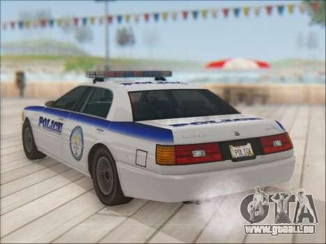 Admiral Police für GTA San Andreas Unteransicht