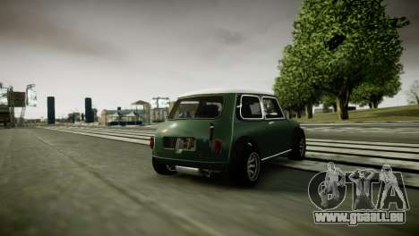 Mini Cooper RWD pour GTA 4 est un droit