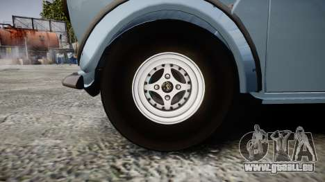 Mini Miglia [Updated] pour GTA 4 Vue arrière