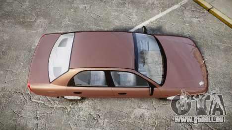 Daewoo Nubira I Sedan S PL 1997 für GTA 4 rechte Ansicht
