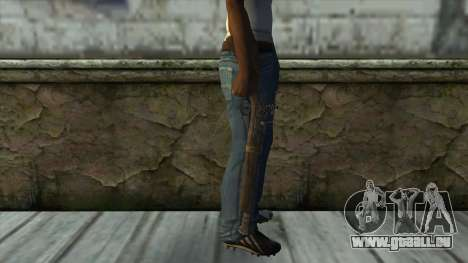 Trabuco from Assassins Creed 4: Freedom Cry pour GTA San Andreas troisième écran