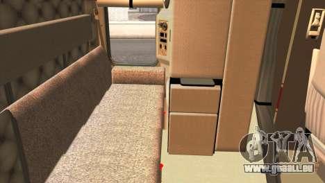 Kenworth T800 Road Train 8X6 für GTA San Andreas zurück linke Ansicht