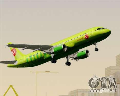 Airbus A320-214 S7-Siberia Airlines für GTA San Andreas Unteransicht