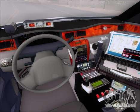 Chevrolet Impala 2006 Tallmage Batalion Chief 2 für GTA San Andreas zurück linke Ansicht
