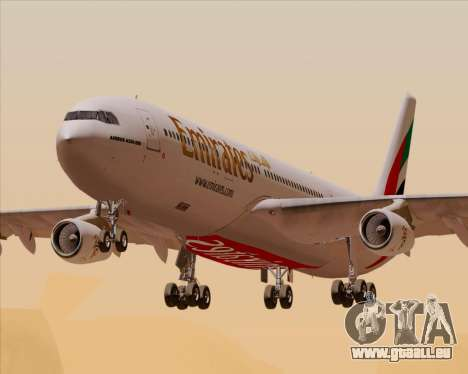Airbus A340-313 Emirates pour GTA San Andreas