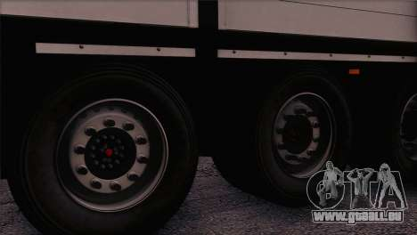 Krone SPD27 Systra Logistik pour GTA San Andreas sur la vue arrière gauche
