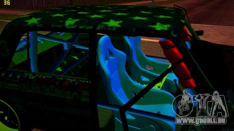 VAZ 2105 Drift für GTA San Andreas obere Ansicht