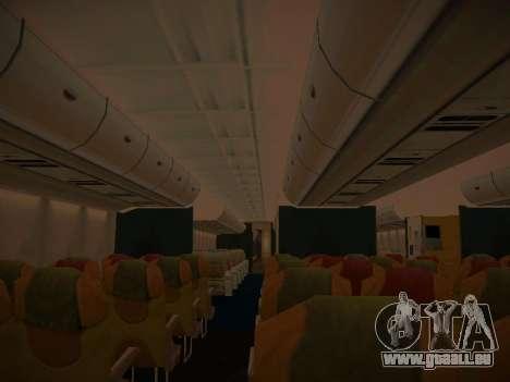 Airbus A380-800 Lufthansa pour GTA San Andreas roue