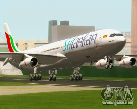 Airbus A340-313 SriLankan Airlines pour GTA San Andreas