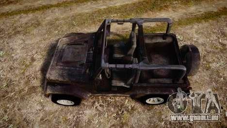 Jeep Wrangler Unlimited Rubicon pour GTA 4 est un droit