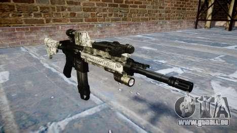 Fusil automatique Colt M4A1 benjamins pour GTA 4