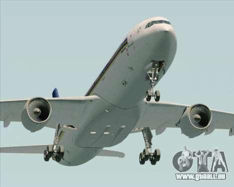 Airbus A330-300 Singapore Airlines für GTA San Andreas Seitenansicht