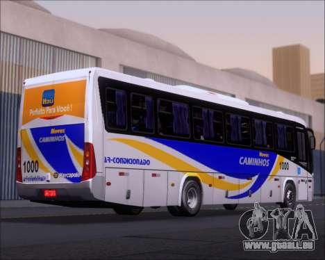 Marcopolo Ideale 770 - Volksbus 17-230 EOD für GTA San Andreas Rückansicht
