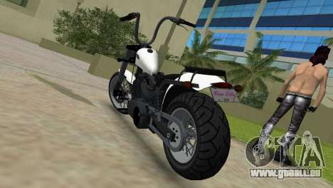 WMC Daemon pour GTA Vice City sur la vue arrière gauche