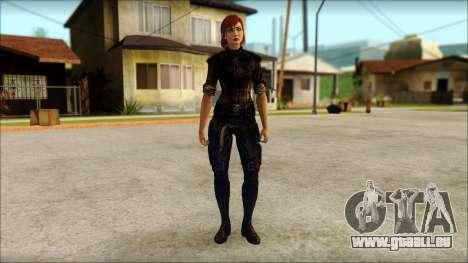 Mass Effect Anna Skin v9 für GTA San Andreas