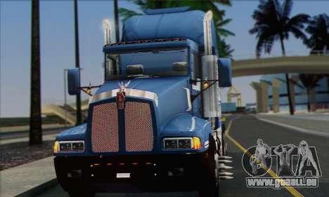 Kenworth T600 pour GTA San Andreas vue de droite