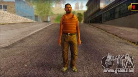 GTA 5 Ped 14 pour GTA San Andreas