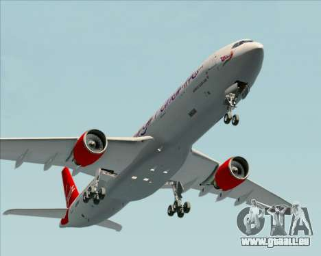 Airbus A330-300 Virgin Atlantic Airways für GTA San Andreas Seitenansicht