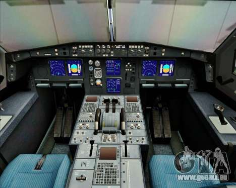Airbus A340-313 China Airlines pour GTA San Andreas salon