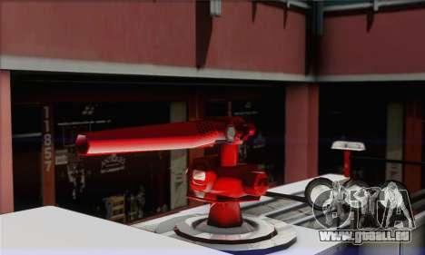 SAFD BRUTE Firetruck pour GTA San Andreas sur la vue arrière gauche