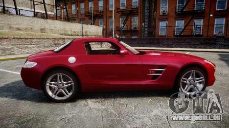 Mercedes-Benz SLS AMG [EPM] pour GTA 4 est une gauche
