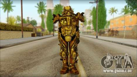 Enclave Tesla Soldier from Fallout 3 für GTA San Andreas