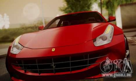 Ferrari FF 2012 pour GTA San Andreas vue de côté