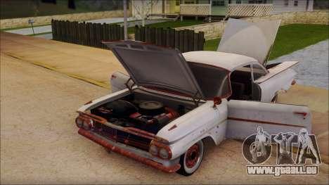 Chevrolet Biscayne 1959 Ratlook pour GTA San Andreas vue arrière