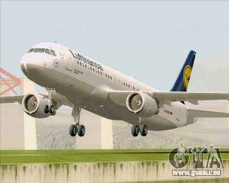 Airbus A320-211 Lufthansa für GTA San Andreas linke Ansicht