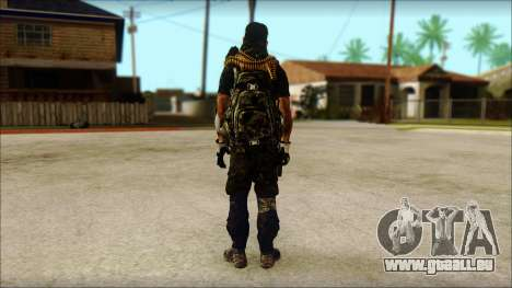 Australian Resurrection Skin from COD 5 für GTA San Andreas zweiten Screenshot