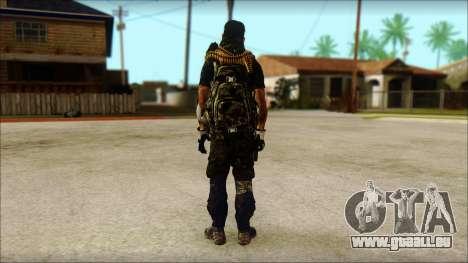 Australian Resurrection Skin from COD 5 pour GTA San Andreas deuxième écran