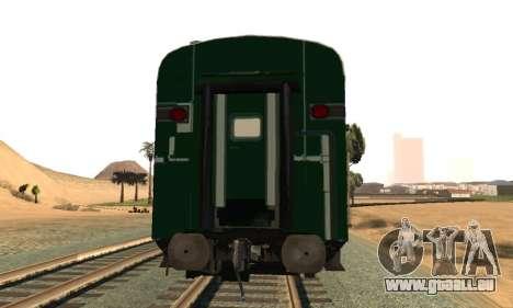 Pakistan Railways Train für GTA San Andreas rechten Ansicht