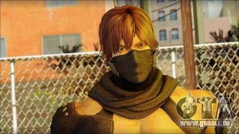 Ryu True Fighter From Dead Or Alive 5 für GTA San Andreas dritten Screenshot