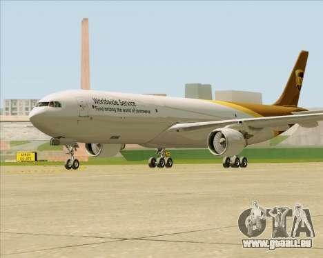 Airbus A330-300P2F UPS Airlines pour GTA San Andreas vue de droite