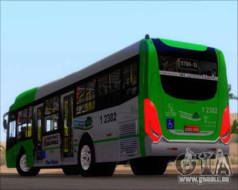 Caio Induscar Millennium BRT Viacao Gato Preto pour GTA San Andreas roue