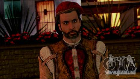 Ezio from Assassins Creed für GTA San Andreas dritten Screenshot
