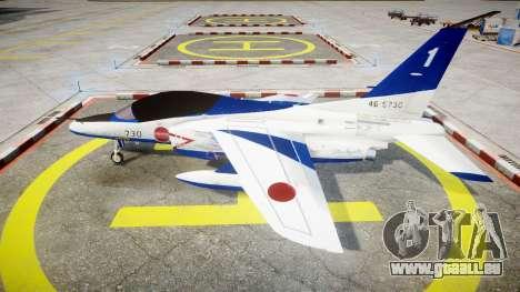 Kawasaki T-4 für GTA 4 linke Ansicht