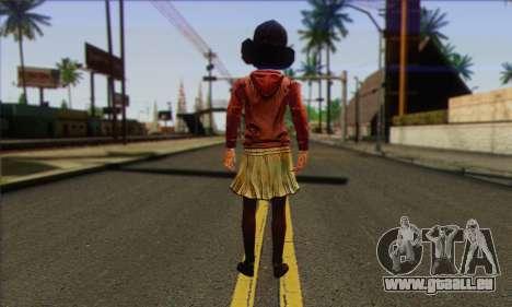 Klementine from Walking Dead pour GTA San Andreas deuxième écran