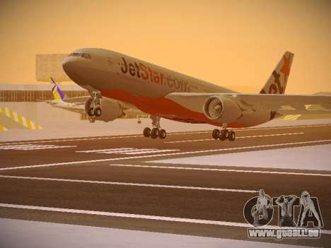 Airbus A330-200 Jetstar Airways pour GTA San Andreas