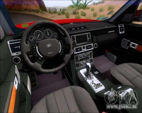 Land Rover Discovery 4 pour GTA San Andreas roue