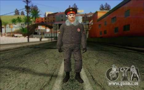 La Police De La Russie De La Peau 1 pour GTA San Andreas