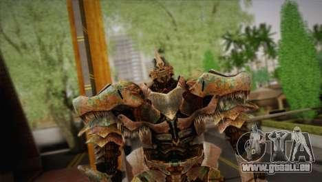 Grimlock v1 pour GTA San Andreas troisième écran
