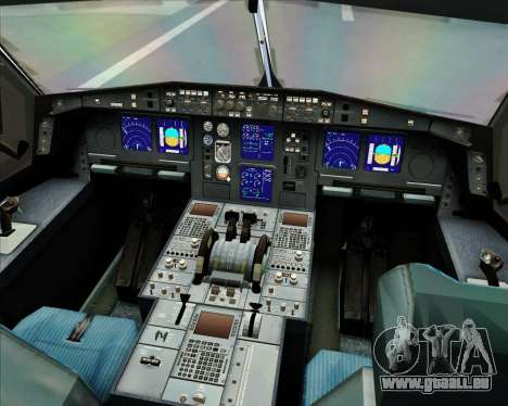 Airbus A330-300 Virgin Atlantic Airways für GTA San Andreas Räder