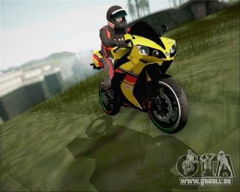 Yamaha R1 HBS Style für GTA San Andreas