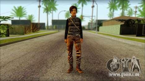 Tomb Raider Skin 1 2013 für GTA San Andreas