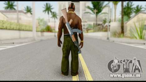 MR T Skin v7 für GTA San Andreas zweiten Screenshot