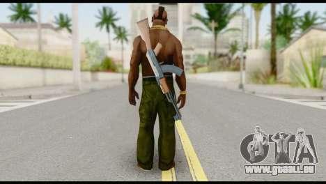 MR T Skin v7 pour GTA San Andreas deuxième écran