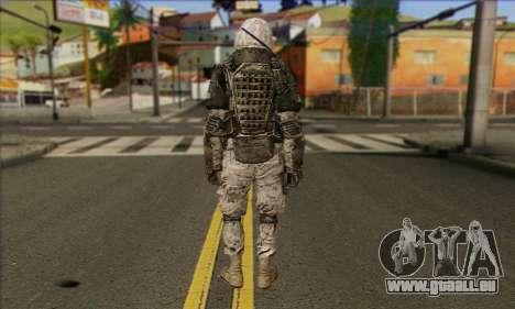Task Force 141 (CoD: MW 2) Skin 3 pour GTA San Andreas deuxième écran